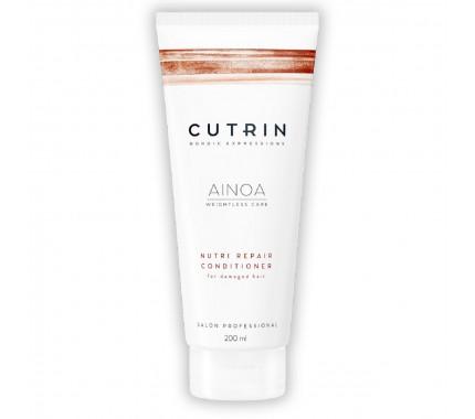 Кондиционер для сухих и поврежденных волос Cutrin Ainoa Nutri Repair Conditioner, 200 мл