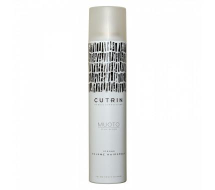 Лак для прикорневого объема, сильной фиксации Cutrin Muoto Strong Volume Hairspray, 300 мл