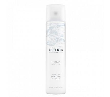 Лак сильной фиксации для чувствительных волос Cutrin Vieno Sensitive Hairspray Strong, 300 мл