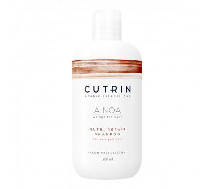 Шампунь для сухих и поврежденных волос Cutrin Ainoa Nutri Repair Shampoo, 300 мл