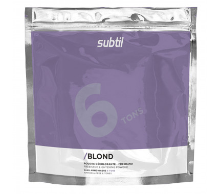 Ducastel Subtil Blond - Осветляющая безаммиачная пудра до 6 Тонов, 450 г