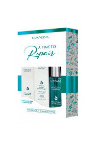 Набор Lanza  Healing Strength Holiday Trio Box 2020 (sh/300ml + cond/250ml + serum/100ml)