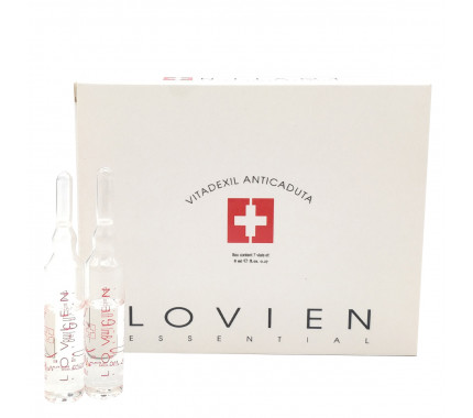 Ампулы против выпадения волос Lovien Essential Hair Loss Prevention Treatment Ampoules Vitadexil, 7х8 мл