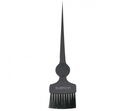 Кисть широка для фарбування волосся Subrina Professional