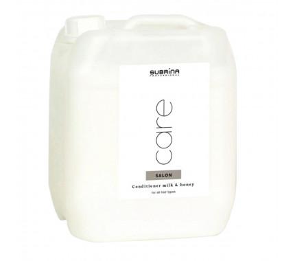 Кондиціонер Молоко і Мед для всіх типів волосся Subrina Professional CONDITIONER MILK & HONEY, 5000 мл