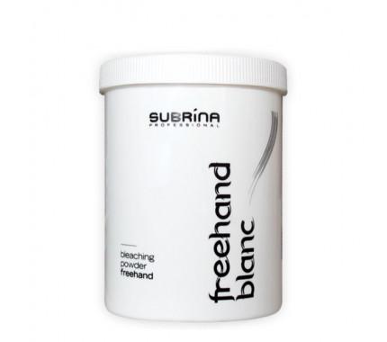 Паста для осветления волос FREEHAND BLANC для открытых техник Subrina