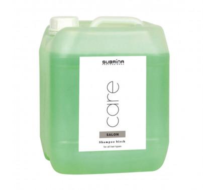 Шампунь Береза для всіх типів волосся Subrina Professional SHAMPOO BIRCH, 5000 мл