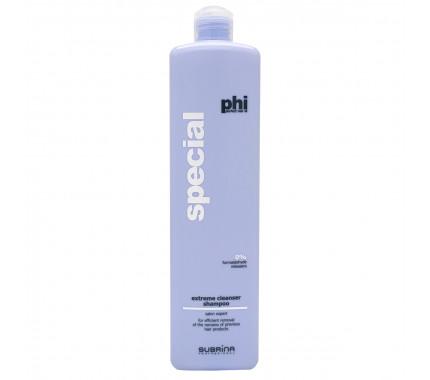 Шампунь глубоко очищающий PHI SPECIAL Extreme cleanser shampoo SUBRINA