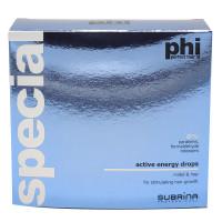 Subrina PHI Active energy drops Тоник в ампулах против выпадения волос, 5*10 мл