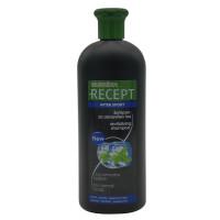 """Шампунь для чоловіків з м'ятою і ментолом """"Спорт"""" - Subrina Shampoo Recept After sport, 400 мл."""