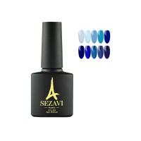 Гель-лак Sezavi Bleu BL, 8 мл