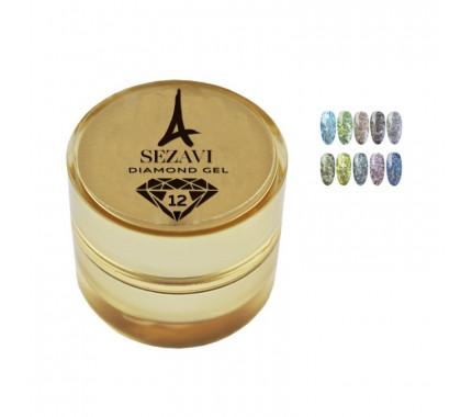 Жидкие блестки Sezavi Diamond, 5 мл