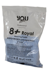 Осветляющая пудра You Look Professional 8+ Royal синяя, 500 г