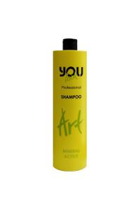 Шампунь для сухих, ломких и ослабленных волос You Look Professional ART Mineral Active Shampoo 1000 мл.