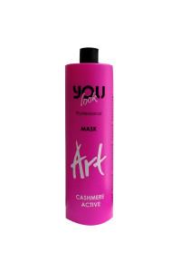 Маска для захисту і збереження кольору волосся You Look Professional ART Cashmere Active Mask 1000 мл.