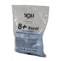 Осветляющая пудра You Look Professional 8+ Royal синяя, 500 г
