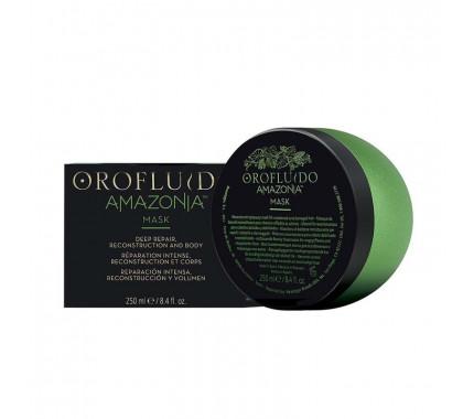 Восстанавливающая маска для волос Orofluido Amazonia Mask