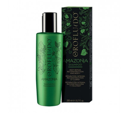 Шампунь для ослабленных и поврежденных волос Orofluido Amazonia Shampoo