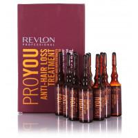 Средство против выпадения волос Revlon Professional Pro You Anti-Hair Loss Treatment, 12х6 мл
