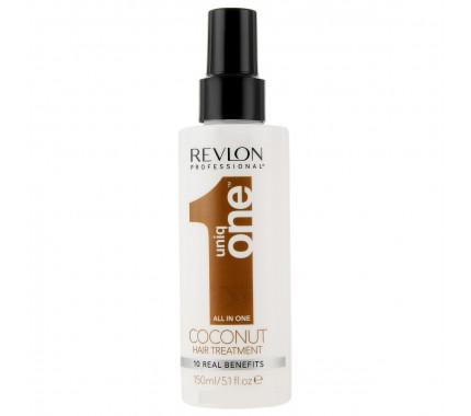 Спрей для волос с ароматом кокоса Revlon Professional Uniq One Hair Treatment