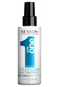 Спрей для волос с ароматом цветка лотоса Revlon Professional Uniq One Hair Treatment, 150 мл