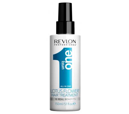 Спрей для волос с ароматом цветка лотоса Revlon Professional Uniq One Hair Treatment