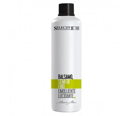 Бальзам живильний для пошкодженого волосся Selective Professional Balsamo Semi Di Lino, 1000 мол
