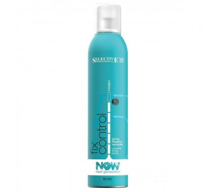 Лак для волосся сильної фіксації Selective Professional Now Next Generation Fix Control, 300 мл