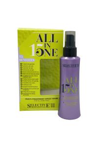 Багатофункціональна маска-спрей для всіх типів волосся Selective Professional All In One Spray, 150 мл