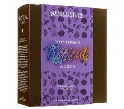 Набор для ухода за кожей и волосами Selective Professional Tropical Sublime (Shamp,250мл + Spry,100мл)