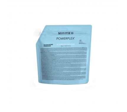 Знебарвлюючий порошок для волосся до 8 тонів Selective Professional Powerplex Bleaching Powder, 500 г