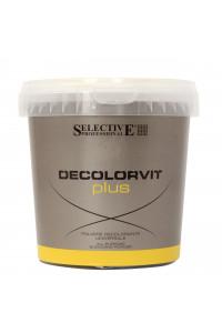 Осветлитель для волос до 7 тонов Selective Professional Decolorvit Plus Vaso, 500 г