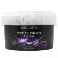 Освітлювач для волосся до 9 тонів Selective Professional Decolorvit Nova, 500 г