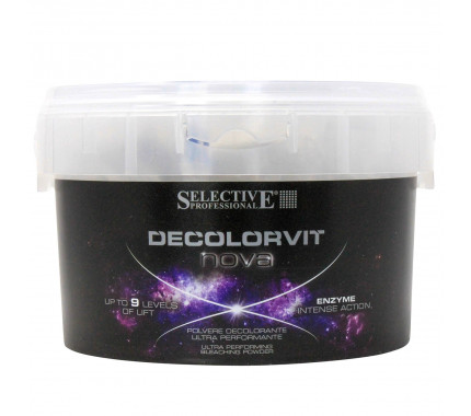 Осветлитель для волос до 9 тонов Selective Professional Decolorvit Nova, 500 г