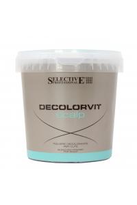 Осветлитель прикорневой для волос Selective Professional Decolorvit Scalp Vaso, 500 г