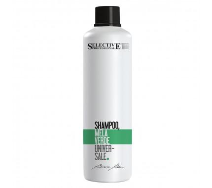 "Шампунь для всіх типів волосся ""Зелене яблуко"" Selective Professional Shampoo Alla Mela Verde, 1000 мл"