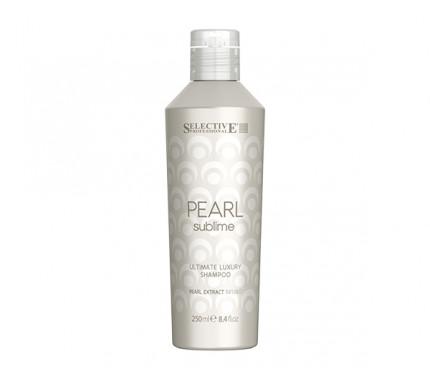 Шампунь Selective Professional Pearl Sublime Shampoo Блиск і сяйво волосся 250 мл, 1000 мол