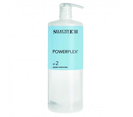 Средство для предотвращения повреждения волос при химических процедурах Selective Professional Powerplex Bond Fortifier № 2, 1000 мл