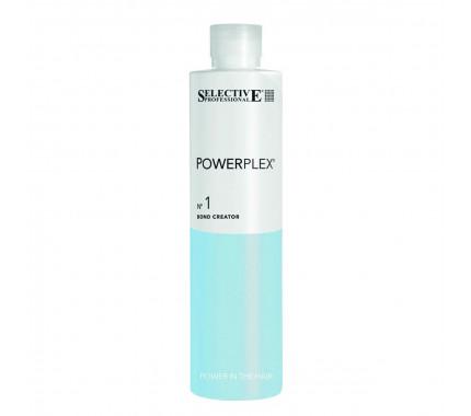 Засіб для відновлення волосся при фарбуванні Selective Professional Powerplex Bond Creator № 1, 500 мл