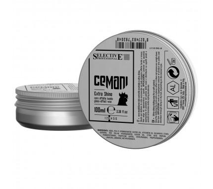 Віск з глянцевим ефектом Selective Professional Cemani Extra Shine, 100 мл