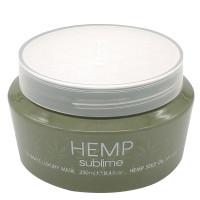Интенсивно-увлажняющая маска с маслом семян конопли для сухих и поврежденных волос Selective Professional Hemp Sublime Ultimate Luxury Mask, 250 мл