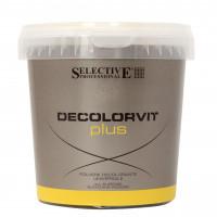 Освітлювач для волосся до 7 тонів Selective Professional Decolorvit Plus Vaso, 500 г