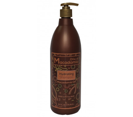 Увлажняющий шампунь с маслом макадамии Kleral System Olio Di Macadamia Hidrating Shampoo, 500мл,1000 мл