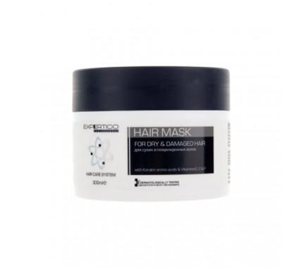 Маска для сухих и поврежденных волос Tico Professional For Dry&Damaged Hair, 300 мл