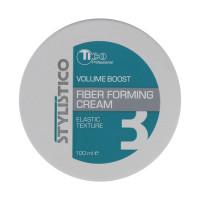 Моделирующая крем-паста для укладки волос Tico Professional Stylistico Volume Boost Fiber Forming Cream, 100 мл