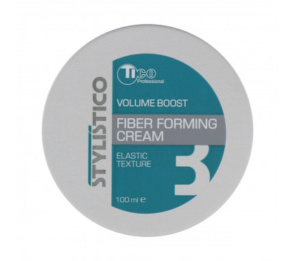Моделююча крем-паста для укладки волосся Tico Professional Stylistico Volume Boost Fiber Forming Cream, 100 мл