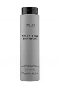 Шампунь для нейтрализации желтизны 3DeLuxe Professional No Yellow Shampoo, 250 мл., 1000 мл