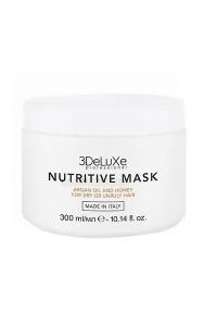 Маска для сухих и повреждённых волос 3DeLuXe Professional Nutritive Mask 300 мл., 1000 мл