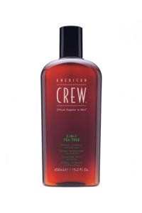 "Шампунь 3-в-1 ""Чайное дерево"" American Crew 3-in-1 Shampoo Tea Tree 450 мл."