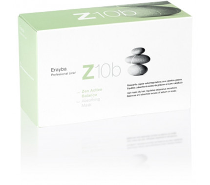 Маска-пилинг против жирных волос Erayba Z10b Absorving Mask, 8х15 мл